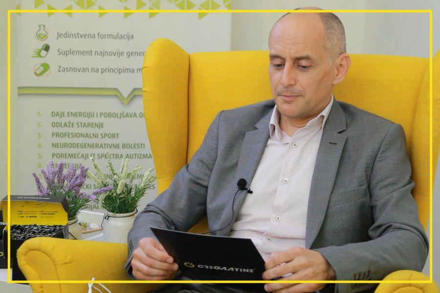Prof dr Sergej Ostojić odpowiada na pytania dotyczące CreGAAtine (część 1)